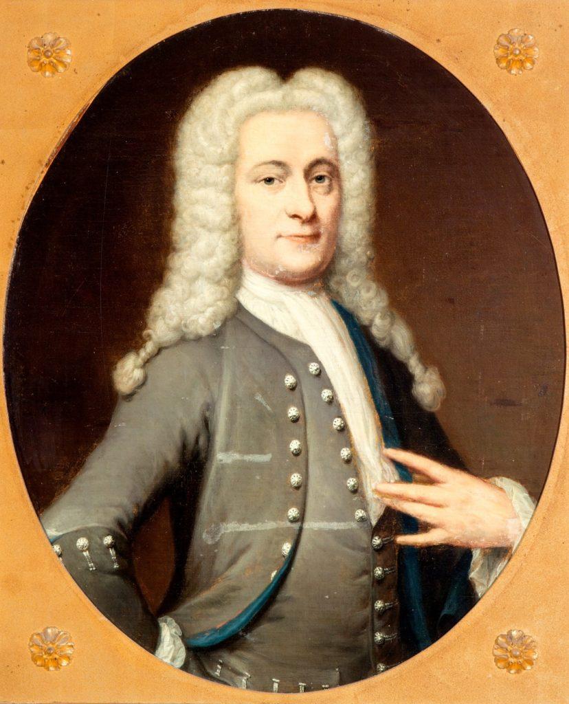 Afb. 1. mr. Joan Jacob van Vrijberghe (1710-1755), door J. Vollevens, foto met dank aan www.venduehuis.com.