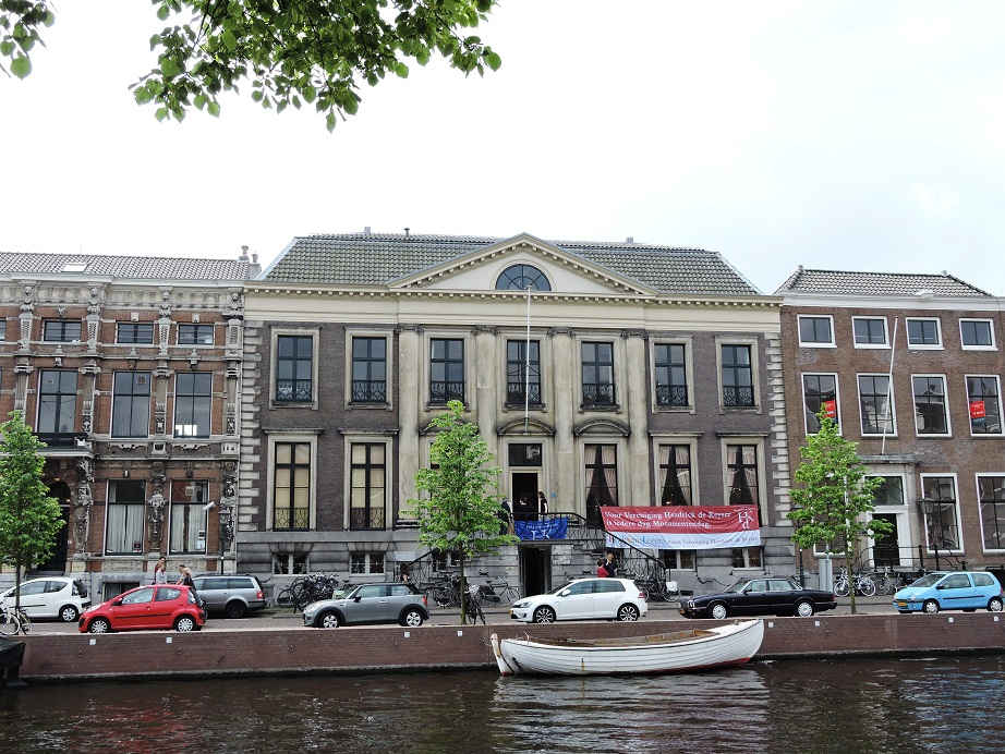 Afb. 1. Huis Barnaart aan de Nieuwe Gracht nr. 7 in Haarlem.