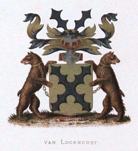 Afb. 2. Het familiewapen Van Lockhorst.