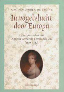 Afb. 3. De voorkant van 'In vogelvlucht door Europa' door A.M. van Lynden-De Bruïne.