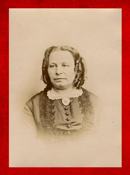 Afb. Françoise Madelin Adema van Scheltema née barones van Eck (1832-1883)/ Foto part. coll.
