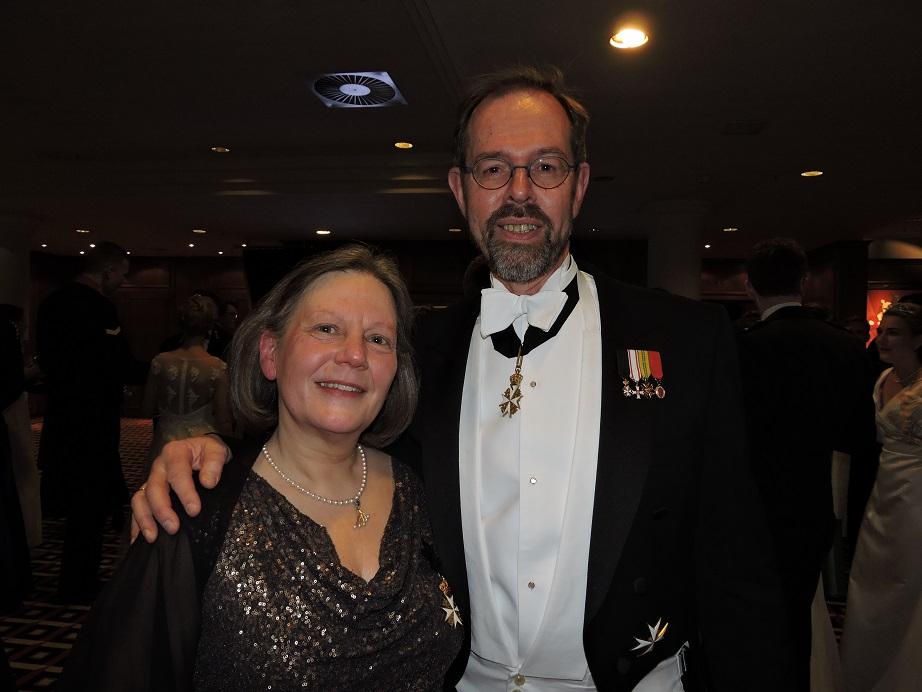 Jonkheer Tom en Ellen Versélewel de Witt Hamer.