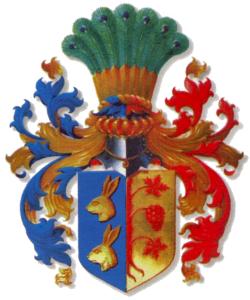 Afb. Het familiewapen Von Maltzahn. Foto met dank aan https://en.wikipedia.org/wiki/Maltzahn.