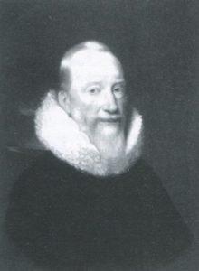 Afb. 2. Walraven van Heeckeren (overl. 1645). Hij kocht in 1617 de Hof van Heeckeren en gaf het zijn naam. Het portret is in het bezit van zijn nakomelingen.