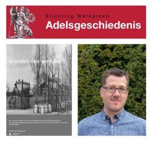 Afb. De winnaar van de Virtus scriptieprijs 2016: Gerrit van Oosterom.