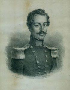 Afb. 2. Mr. Petrus Cornelis Nahuys (1803-1882), Commissaris des Konings in Overijssel, gravure part. coll.