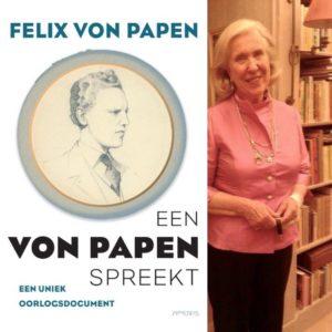 Afb. De voorkant van het boek met rechts Vicky van Asch van Wijck - Freifrau von Papen. Foto met dank aan https://twitter.com/prattenburg.