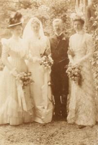 Bentinck-Philipse, huwelijksfoto 1900
