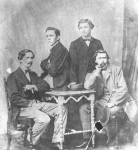 Verschuer, links W.F.K. baron van