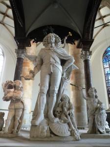 Afb. 4. Het grafmonument van Jacob van Wassenaer in de Grote of Sint-Jacobskerk in 's-Gravenhage