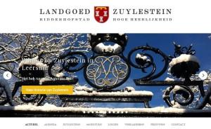 Zuylestein webpagina