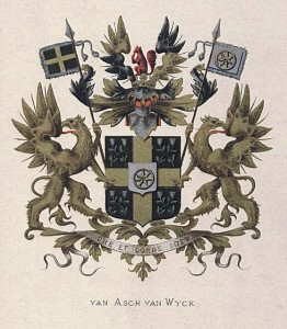 Asch van Wijck, wapen