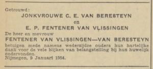 Fentener van Vlissingen-Van Beresteyn