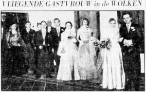 Fentener van Vlissingen-Van Beresteyn, huwelijksfoto