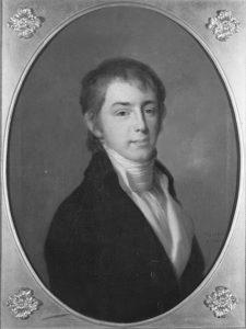 Afb. 1. Jonkheer Willem Philip Barnaart (1781-1851) door J.F.A. Tischbein in 1801, portret part. coll, foto met dank aan www.rkd.nl.
