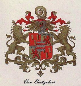 Afb. Het familiewapen Van Boetzelaer.
