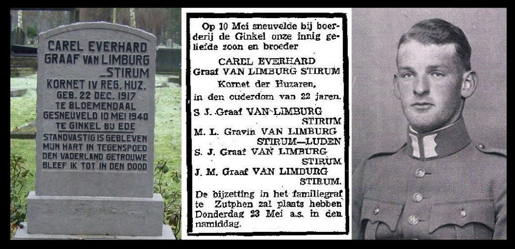 Dodenherdenking 2014 Van Limburg Stirum