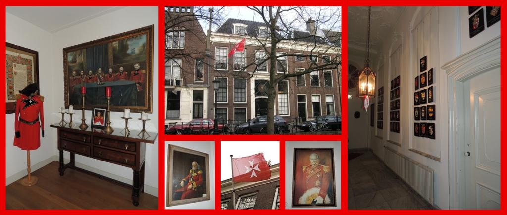 Afb. 4. Het in- en exterieur van het Maltezer Huis in Utrecht