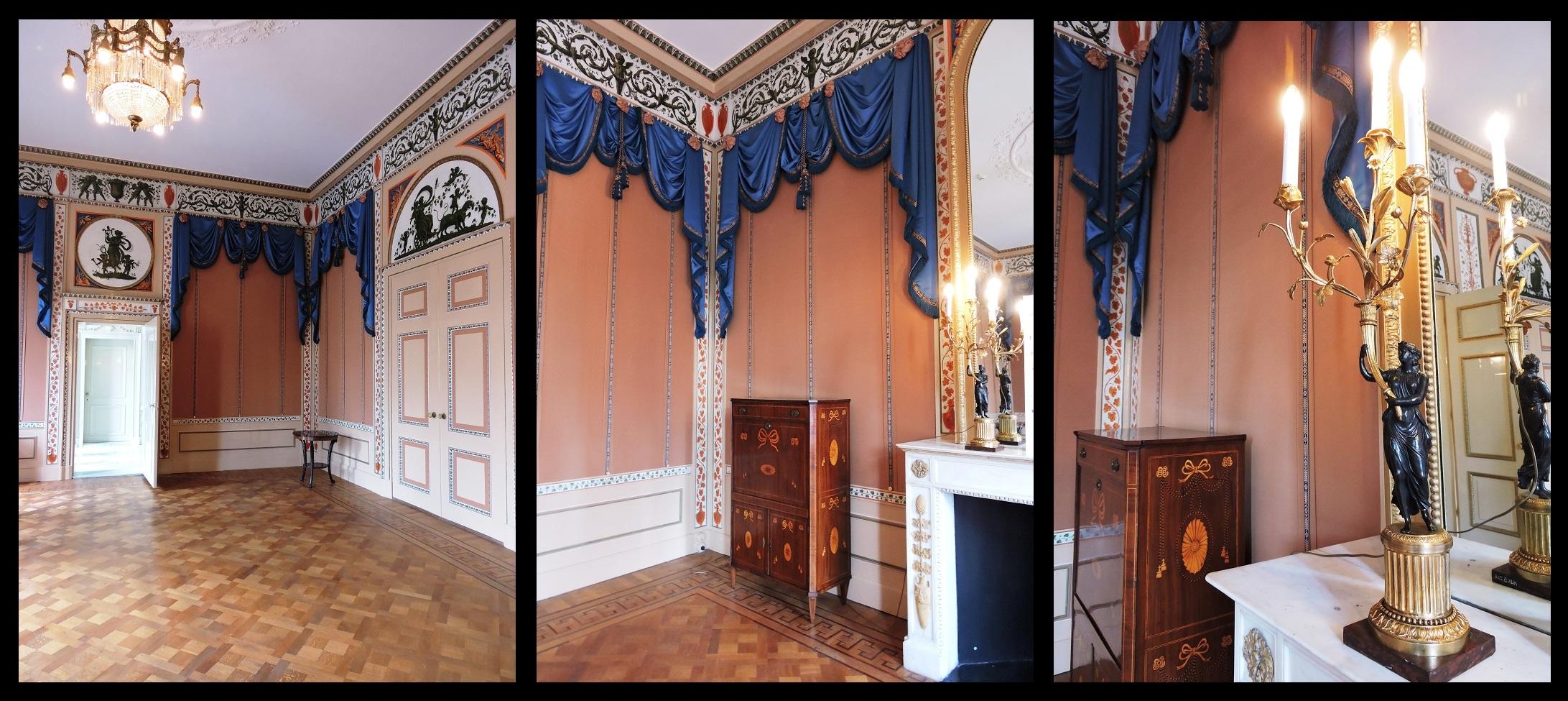 Afb. 2. De Etrurische Kamer in Huis Barnaart.