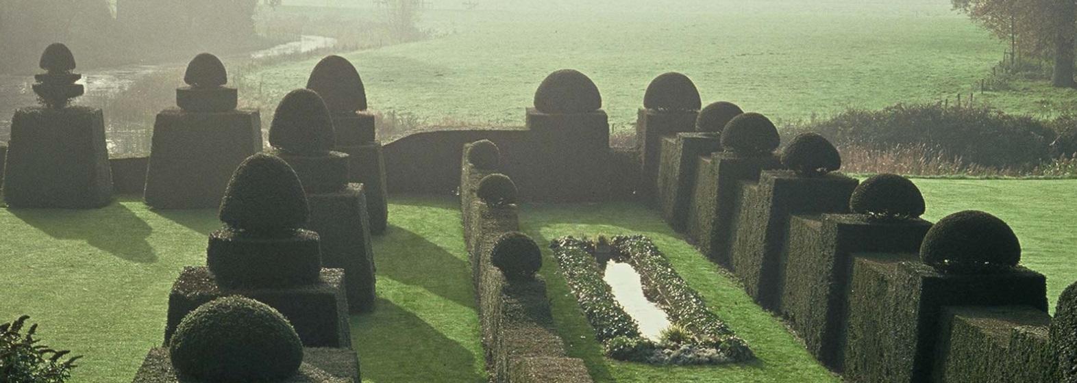 Afb. De beroemde taxushagen op Bingerden. Foto met dank aan www.bingerden.com.