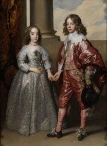 Afb. 3. Willem II en zijn bruid Mary Stuart op het portret uit 1641 door Anthony van Dyck in de collectie van het Rijksmuseum in Amsterdam.