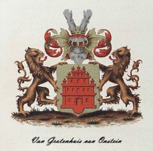 Afb. 1. Het familiewapen Van Grotenhuis van Onstein.