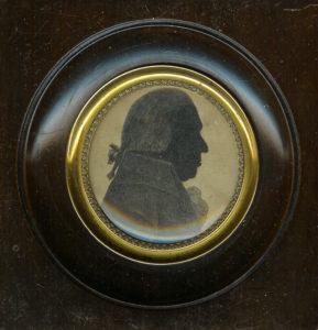 Afb. 2. August Robbert van Heeckeren (1743-1811), heer van Suideras, gravure in part. bezit.