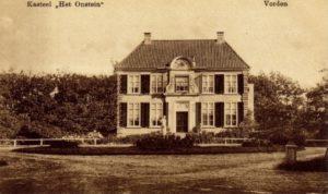 Afb. 2. Huize Het Onstein in Vorden, waaraan de familie Van Grotenhuis van Onstein haar naam ontleend.
