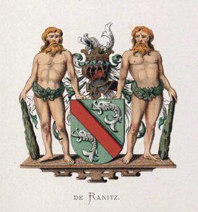 Afb. Familiewapen De Ranitz