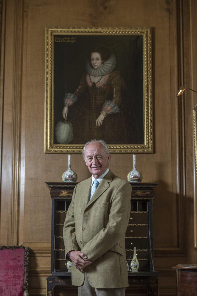 Afb. 2. Sir Guy David Innes-Ker 10th Duke of Roxburghe, foto met hartelijke dank aan His Grace The Duke of Roxburghe en Mrs. Louise Rattray, director of Tourism Marketing Floors Castle.