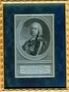 Afb. Unico Wilhelm des H.R. Rijksgraaf van Wassenaer Obdam, gravure part. coll.