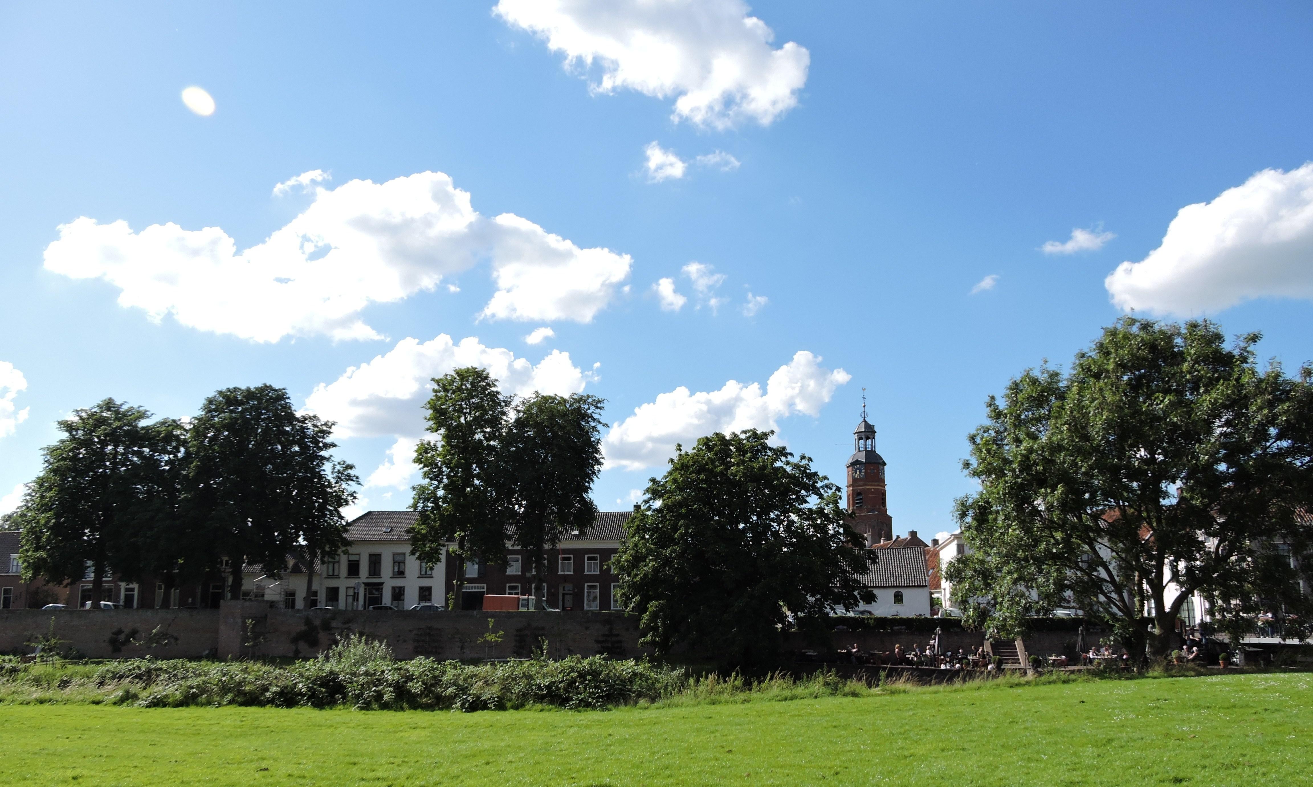 Afb. Het stadje Buren - middelpunt van het Graafschap Buren.