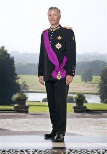 Afb. Z.M. Koning Filip II, foto met dank aan www.monarchie.be.