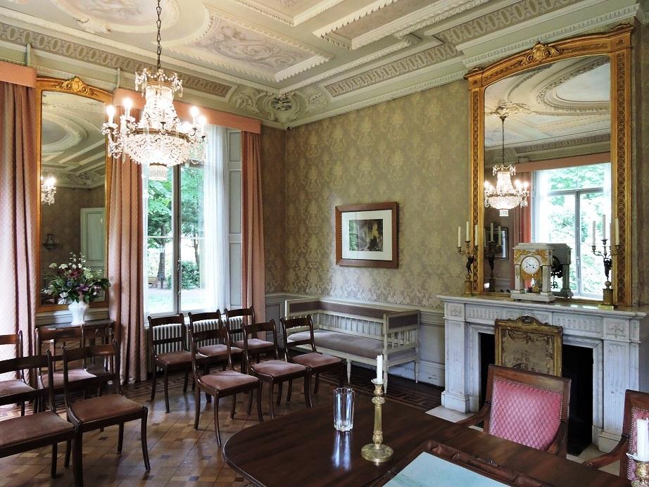 Afb. 2. De grote zaal op kasteel Geldrop. die nu gebruikt wordt als trouwzaal.