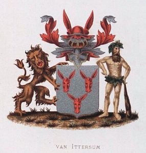 Afb. 2. Het familiewapen Van Ittersum.