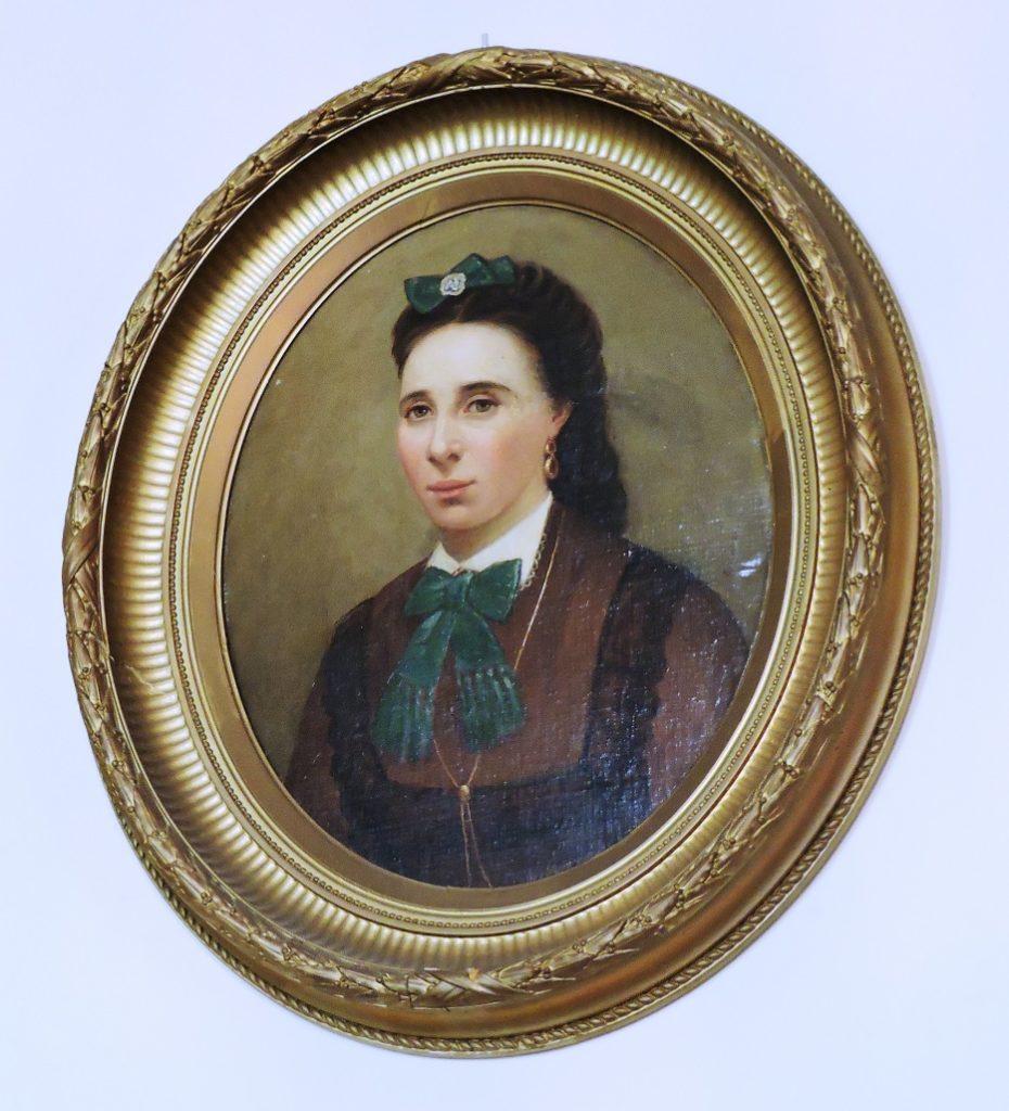 Afb. Het portret van Jacoba Jansen in de collectie van kasteel Heeswijk.