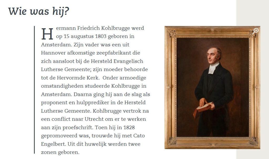 Afb. Screenshot van de website van Museum Catharineconvent.