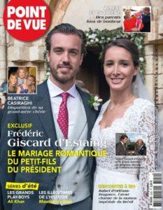 Afb. De cover van het Franse magazine Point de Vue, foto met dank aan www.pointdevue.fr.