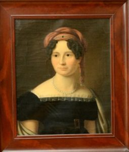 Afb. Ingeborg Margethe barones von Wedel-Jarlsberg née von Haffner (1795-1845), foto met dank aan www.venduehuis.com.