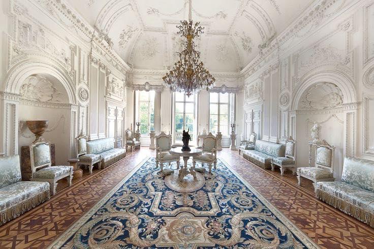 Afb. 2. De grote zaal op kasteel Biljoen - alleen op zaterdag te bezichtigen. Foto met dank aan Erfgoed Rheden.