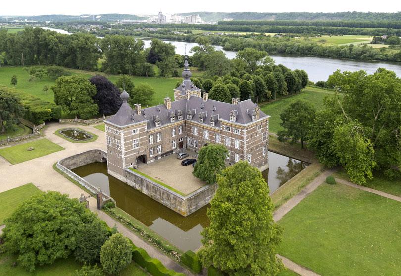 Afb. Kasteel Eijsden, foto met dank aan www.bblemmens.nl.
