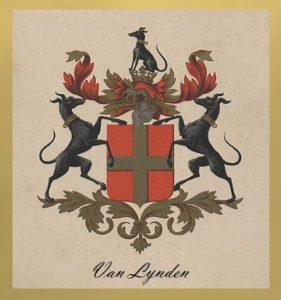 Afb. 1. Het familiewapen Van Lynden.