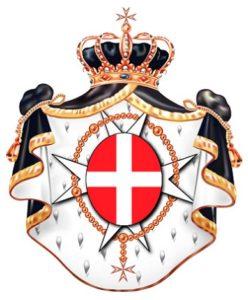 Afb. 1. Het wapen van de Orde van Malta.