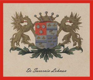 Afb. Het familiewapen De Savornin Lohman.