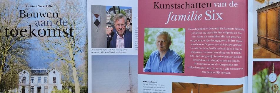 Afb. De beide Sixen in Herenhuis, foto's met dank aan Herenhuis.