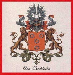 Afb. 1. Het familiewapen Van Suchtelen.