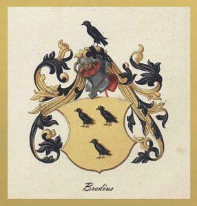 Afb. 4. Het familiewapen Bredius.