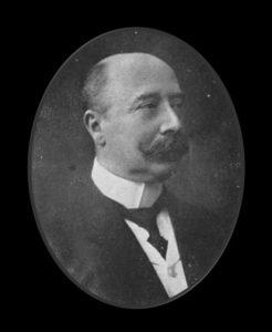 Afb. 2. Grootvader jonkheer mr. Jan Joseph Gockinga, die in 1906 in de Nederlandse adel werd verheven. Foto met dank aan www.cbg.nl.
