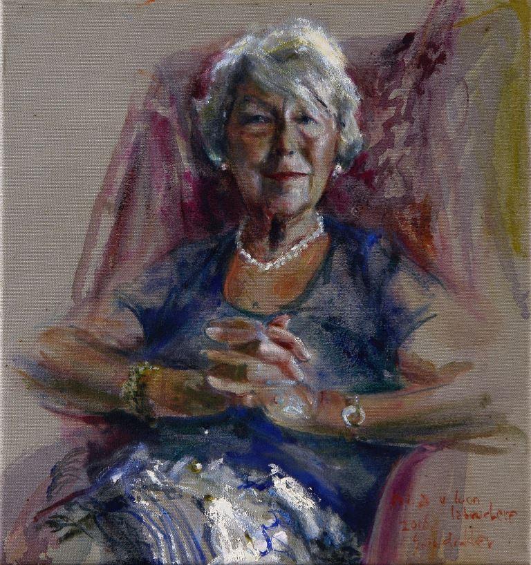 Afb. 2. Het portret van mevrouw Van Loon door Sam Drukker. Foto met hartelijke dank aan Museum Van Loon.
