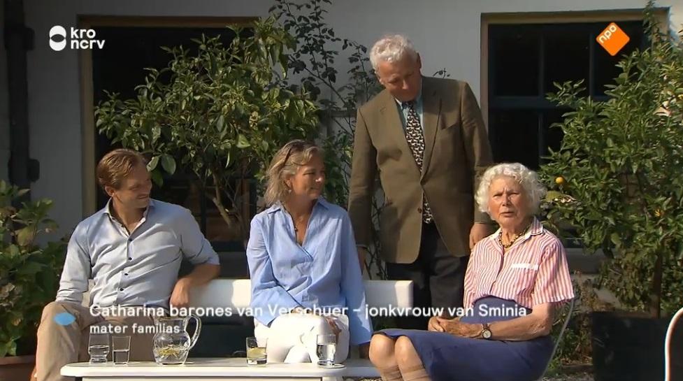 Afb. Drie generaties Van Verschuer. Screenshot met dank aan BinnensteBuiten.
